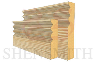 jazz 3 profile Pine Skirting Board