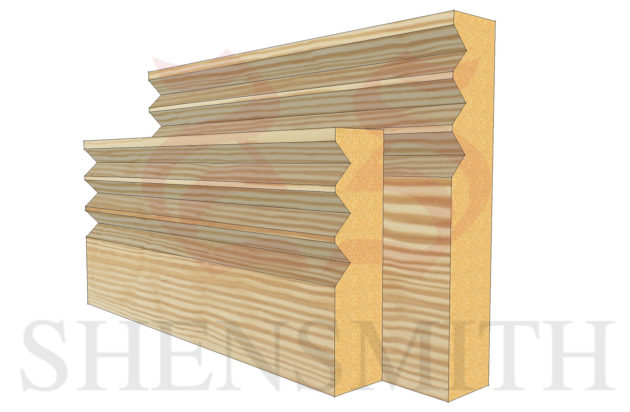 jazz 3 profile Pine Skirting Board