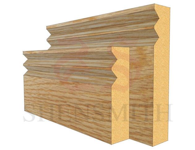 jazz Oak Skirting Board