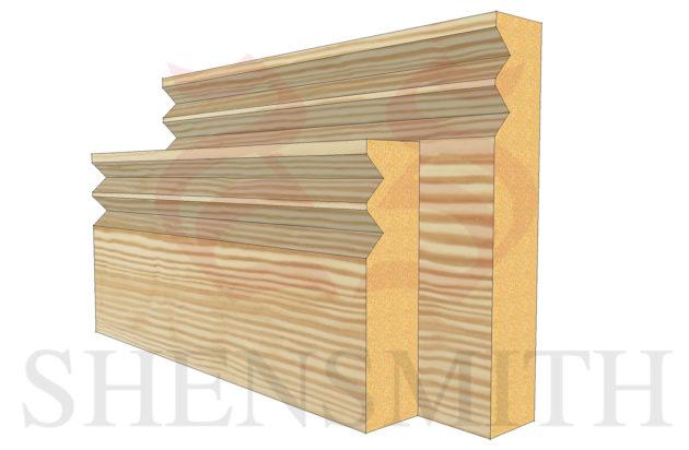jazz profile Pine Skirting Board