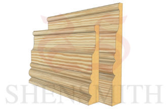 london Pine Skirting Board