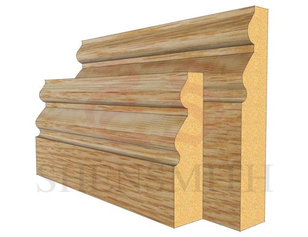norfolk Oak Skirting Board