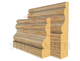 ogee 2 Oak Skirting Board
