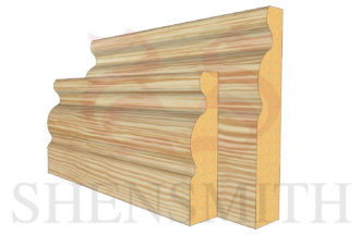 regency profile Pine Skirting Board