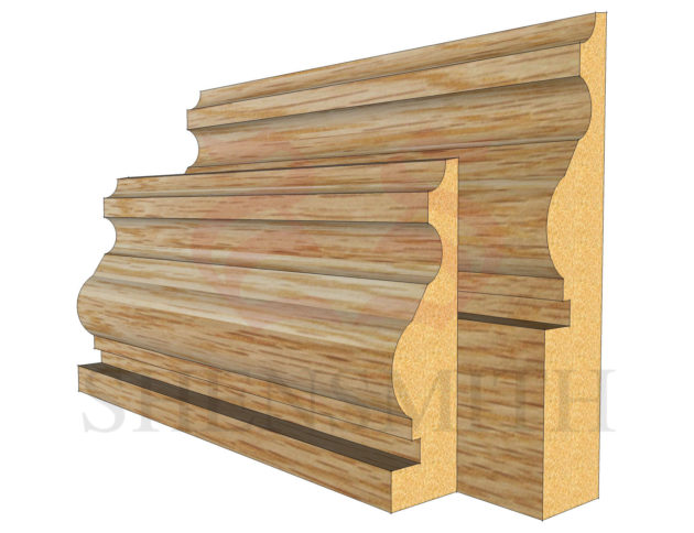 royal Oak Skirting Board