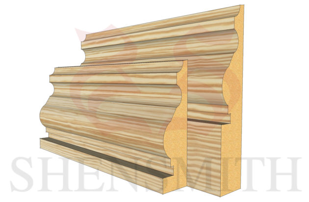 royal profile Pine Skirting Board