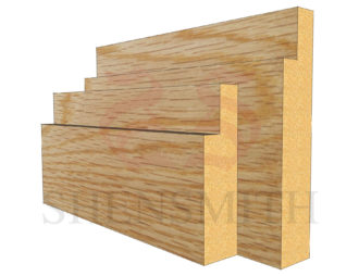 step Oak Skirting Board