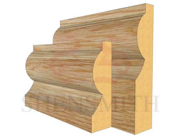 Torus Oak Skirting Board from SkirtingBoards.com
