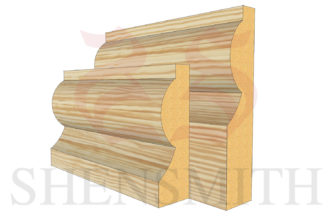 torus Pine Skirting Board