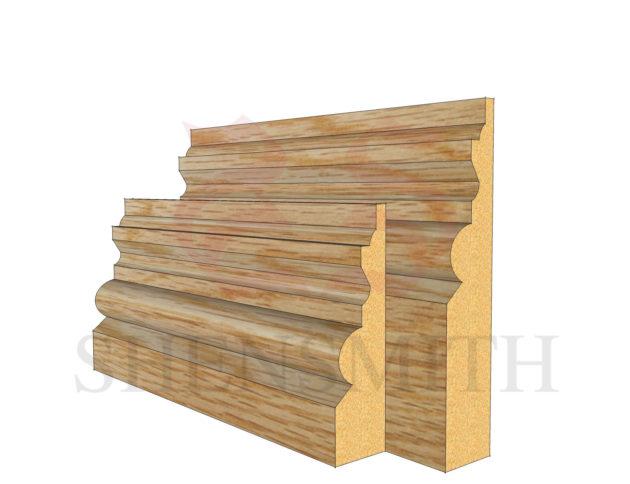 tudor Oak Skirting Board
