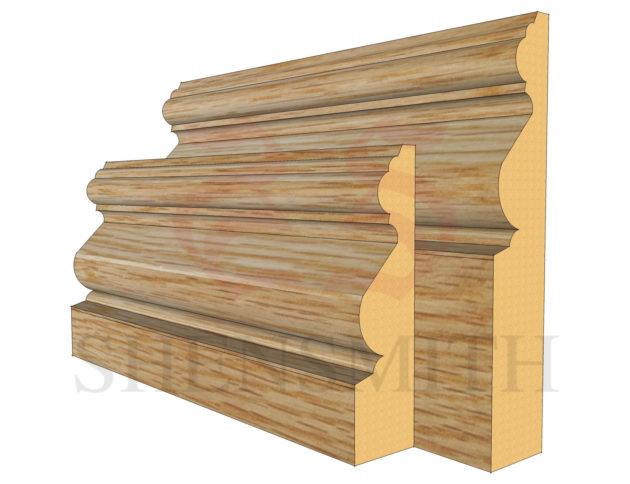 victoriana Oak Skirting Board