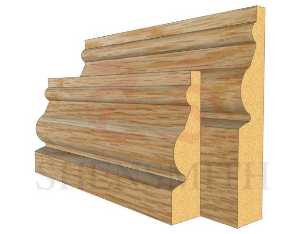 ward Oak Skirting Board