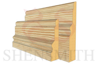 warwick profile Pine Skirting Board