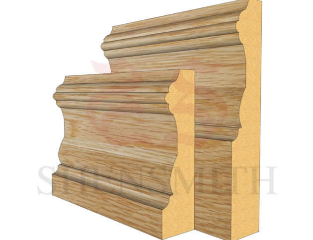 windsor Oak Skirting Board