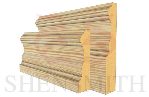 windsor profile Pine Skirting Board