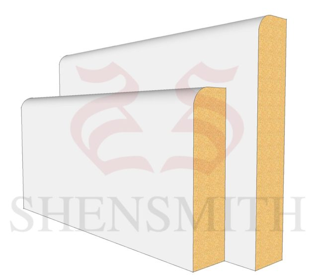 Pencil Round MDF Skirting Board from SkirtingBoards.com