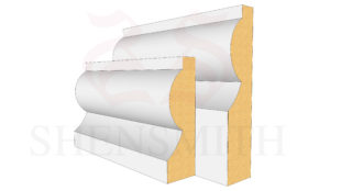 Torus MDF Skirting Board from SkirtingBoards.com